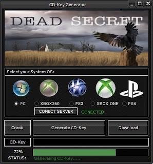 Dead Secret Key Generator (Free CD Key)