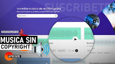 Descargar Música Sin Copyright para tus Videos