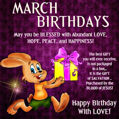 march birthday wishes