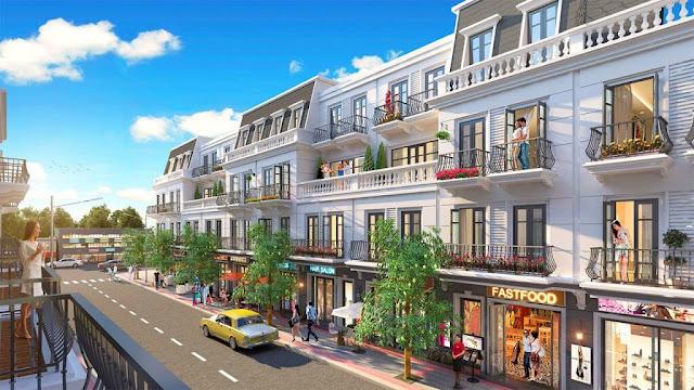 Nhà phố thương mại dự án Thanh Hà Cienco 5