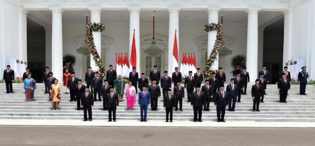 Daftar Nama Menteri Kabinet Indonesia Maju 2019-2024 Beserta Tugasnya