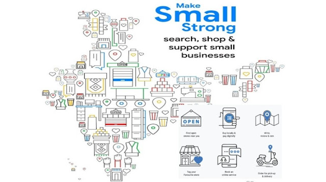 "Google's Campaign ""Make Small Strong"" to help small and local businesses"