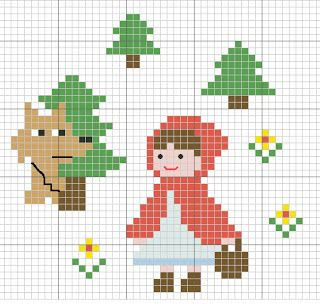 Stitch the baby pattern free- capucetto rosso