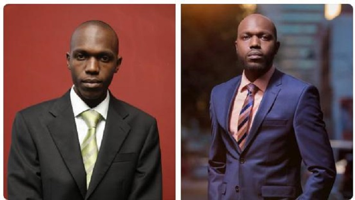 Larry Madowo before and after photo