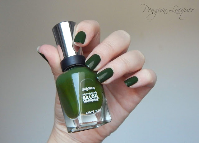 sally hansen evergreen