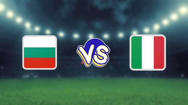 مشاهدة مباراة ايطاليا ضد بلغاريا 02-09-2021 بث مباشر في التصفيات الاوروبيه المؤهله لكاس العالم
