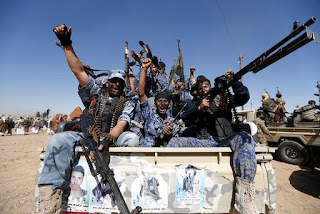 The report said the Houthis continued to target civilian homes, public areas and army positions, using a variety of weapons.