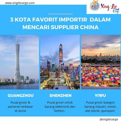 komunitas importir china