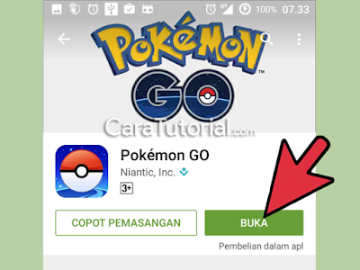 Buka game Pokemon GO