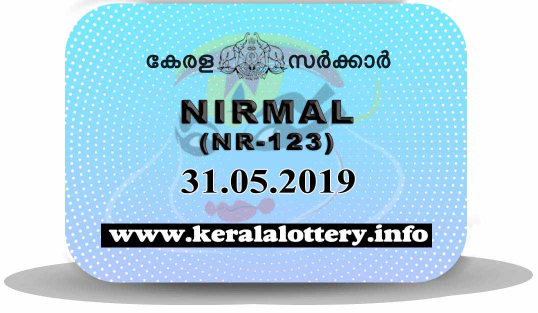 Kerala Lottery Results Today 31.05.2019 LIVE: Nirmal NR