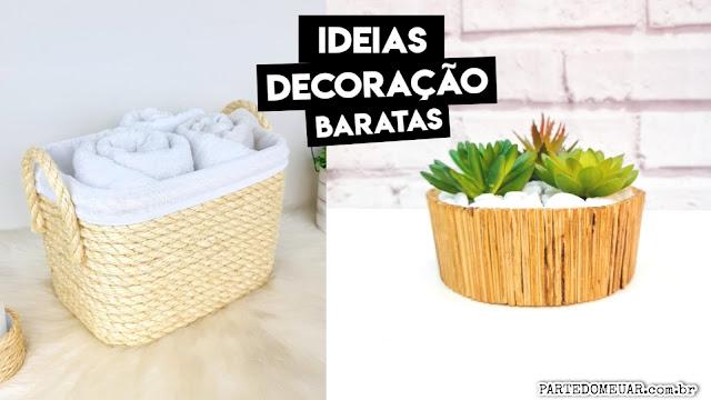 ideias decoração simples