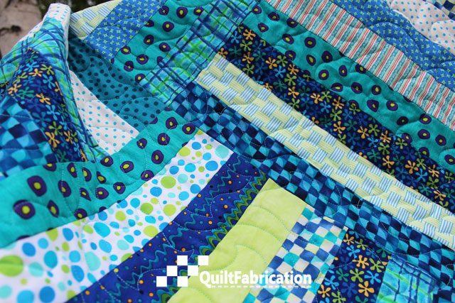 Summer Picnic quilt fabrics