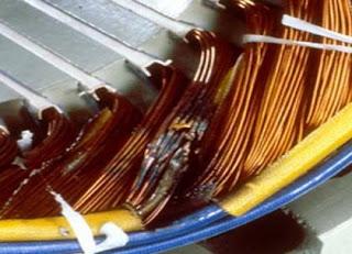 اسباب احتراق المحرك الكهربائي