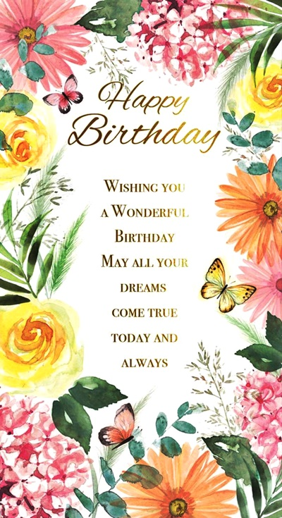 Happy Birthday Wishes & Quotes for Friends Sister Brother Husband & Wife