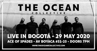 Concierto THE OCEAN Colective en Colombia