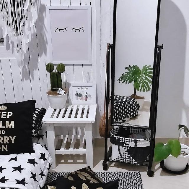 Desain Kamar Tidur Sempit untuk Remaja dengan Cermin