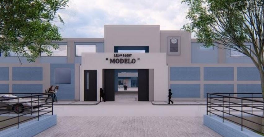 Gobierno Regional reconstruirá el próximo año el centenario colegio Modelo de Trujillo - La Libertad