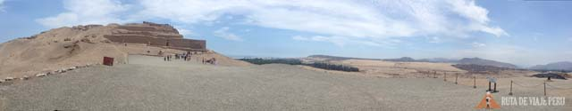 Panoramica Zona Arqueologica Pachacamac