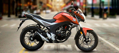 New Honda CB Hornet 160R side profile HD image
