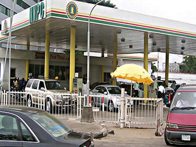fire nnpc mega station fuel station