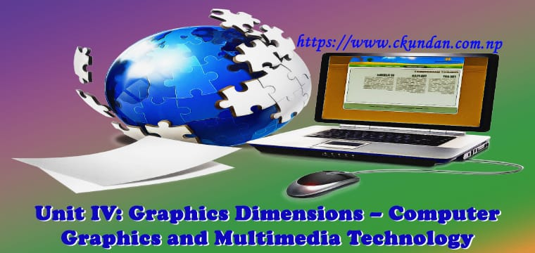 Graphics Dimensions – Computer Graphics and Multimedia Technology