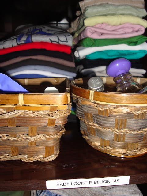 Organizando meu guarda-roupa - parte 2