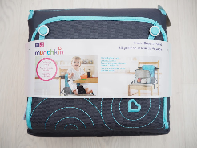 Munchkin Travel Booster Seat packaging