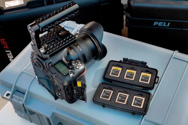 Peli apresenta estojo para cartões de memória XQD para profissionais da fotografia