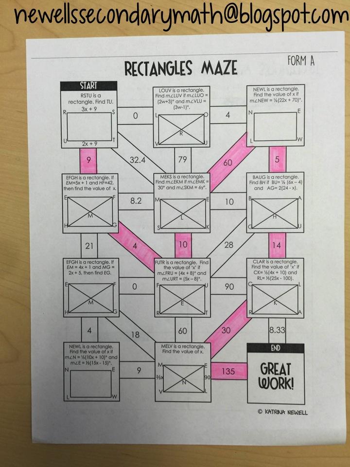 Properties of rectangles mrs newells math properties of rectangles ccuart Gallery