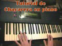 como tocar, teclado, aprender chacareras folclore