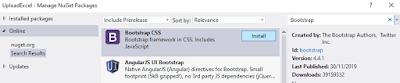 Menambahkan Bootstrap ASP NET MVC Tanpa NuGet