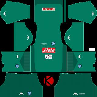 SSC Napoli 2017/18 - Dream League Soccer Kits