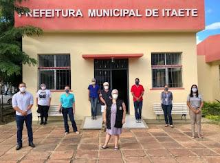 Casos da Coronavírus em Itaetê