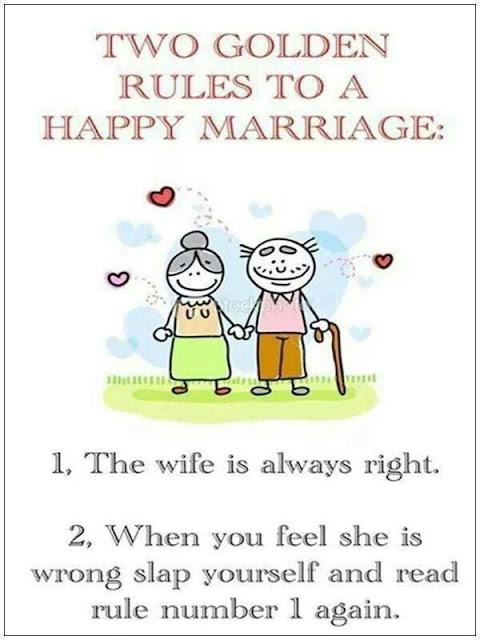 Wordless Wednesday #625...Happy Marriage