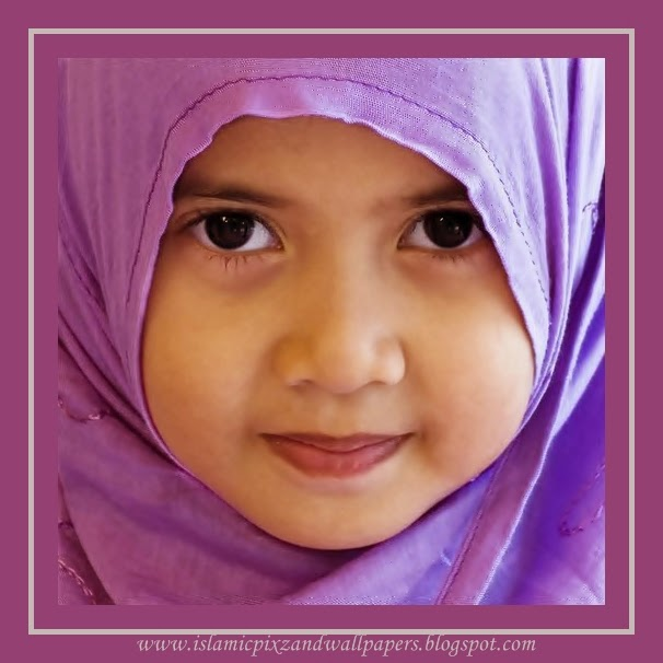 Islamic Pictures And Wallpapers: Muslims Cute Babies Girls