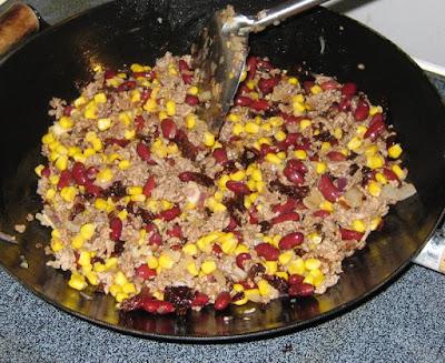 Zubereitung Chili con Carne