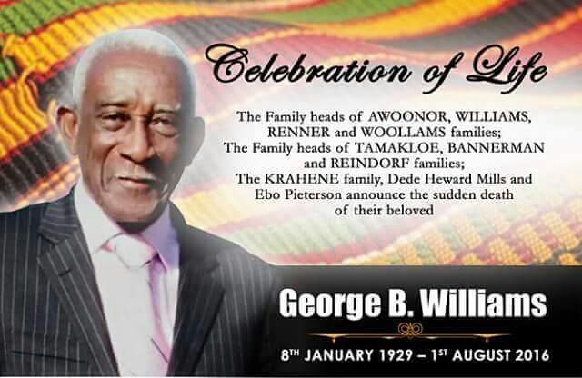 George Williams goes home, Oct. 28