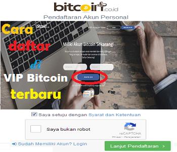 cara daftar vip bitcoin