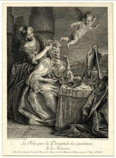 La alegría de la decrepitud. 1750
