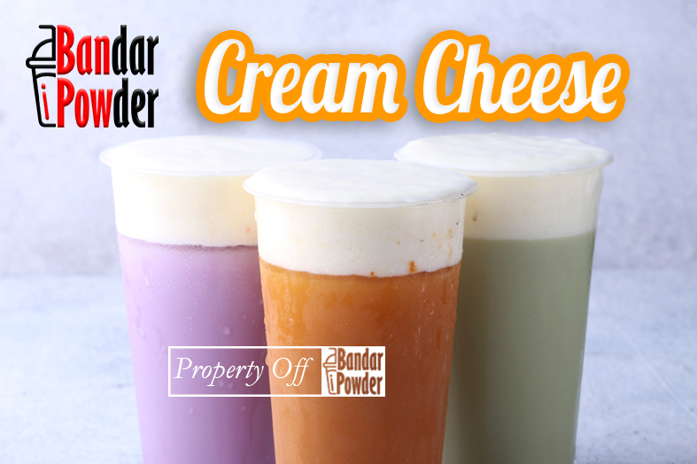 Jual Cheese Foam Powder untuk Cheese Tea Terlaris