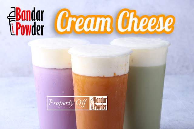 cream cheese bandar powder jual bubuk topping minuman