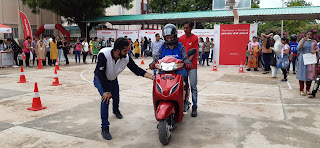 Honda empowers female students of Ajmer with its National Road Safety Awareness initiative