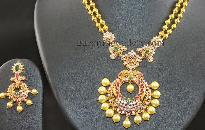 Diamond Necklace Gold