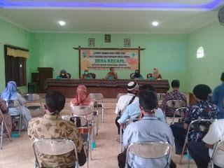 Babinsa Ikuti Musyawarah Desa Membahas Pencegahan Penularan Covid-19