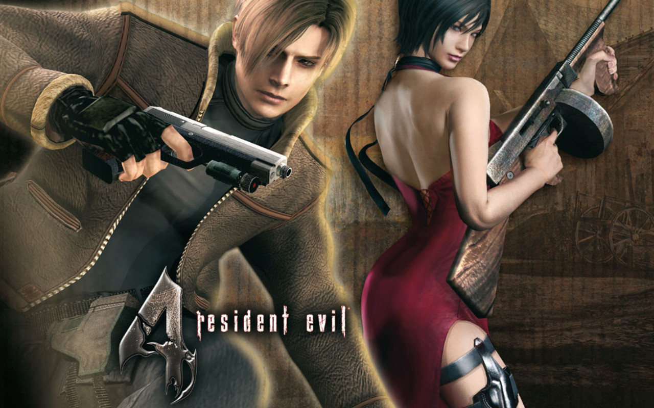 Video Game Gallery Resident Evil 4 Wallpaper