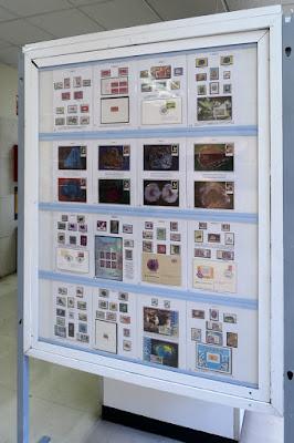 Exposición filatélica en el Museo de Geología