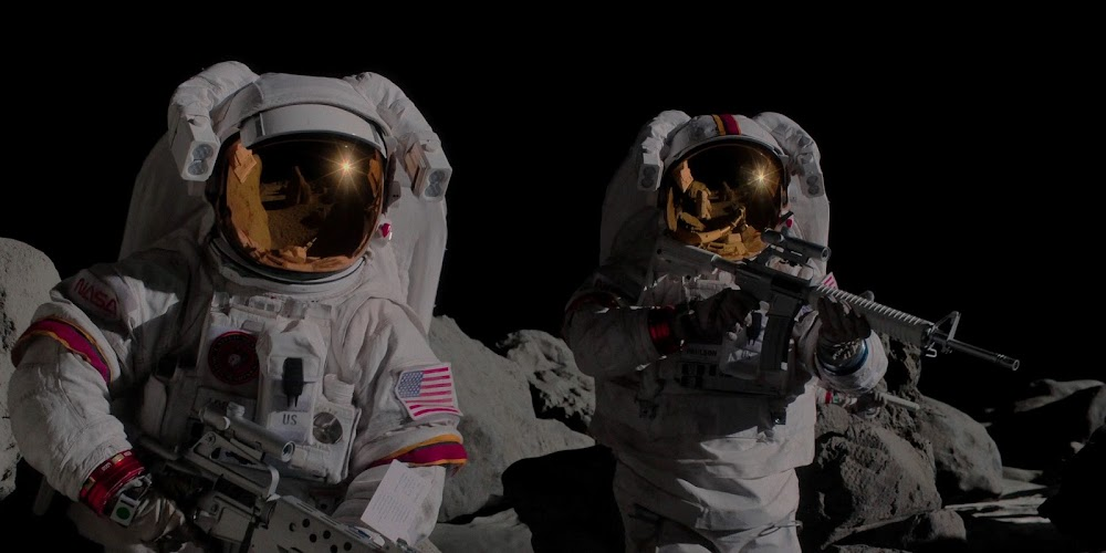 US space marines on the Moon in season 2 of 'For All Mankind'