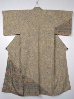 ジャワ更紗のお着物です。
