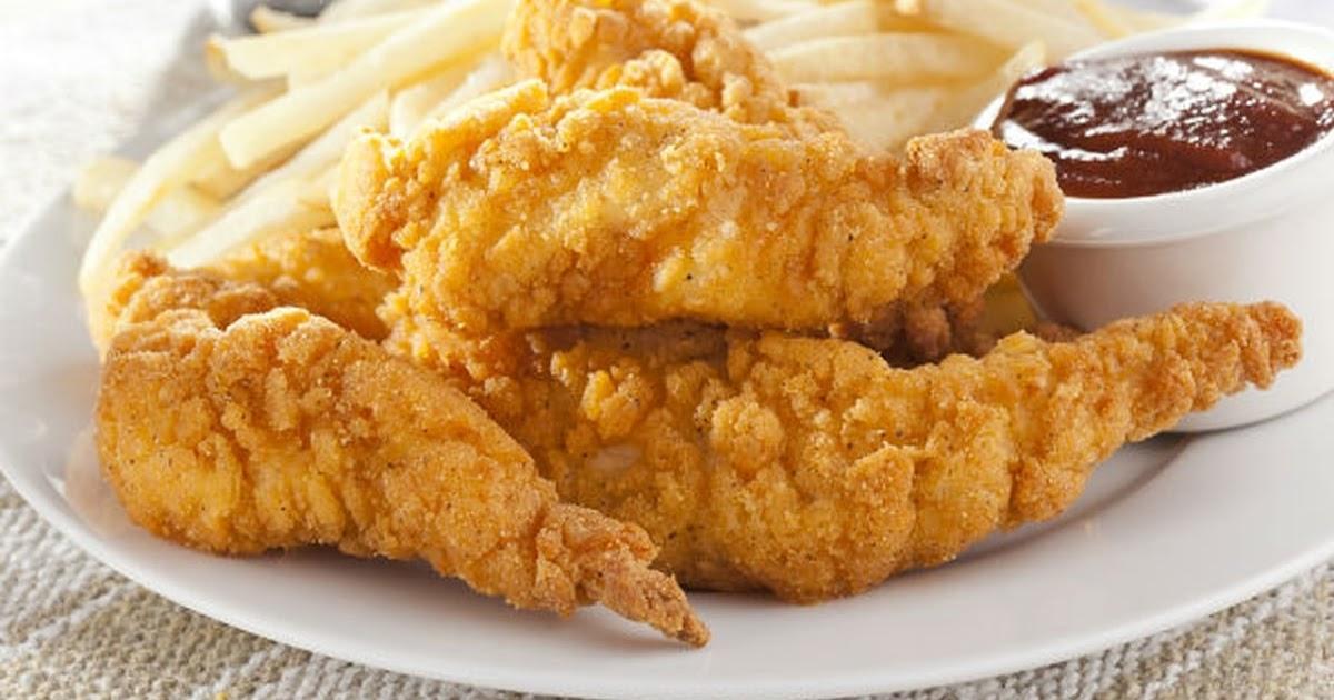 طريقة عمل شرائح الدجاج المقرمشة (كرسبي تشكين ستربس)
