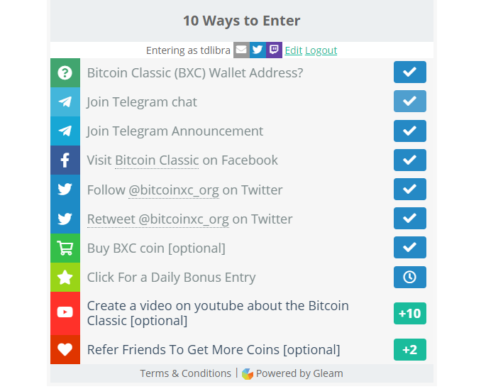 Bitcoin Classic Airdrop BXC coin - Nhận miễn phí 20BXC 4